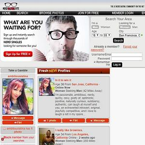 Where are the online dating sites for geeks